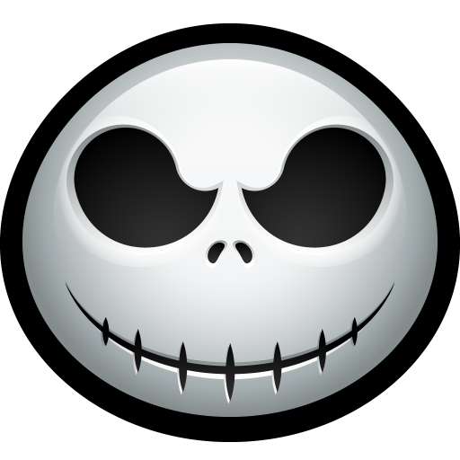 Jack Skellington Icon Halloween Avatar Iconset Hopstarter