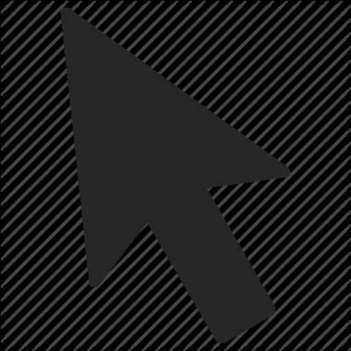 Black Mouse Pointer Icon