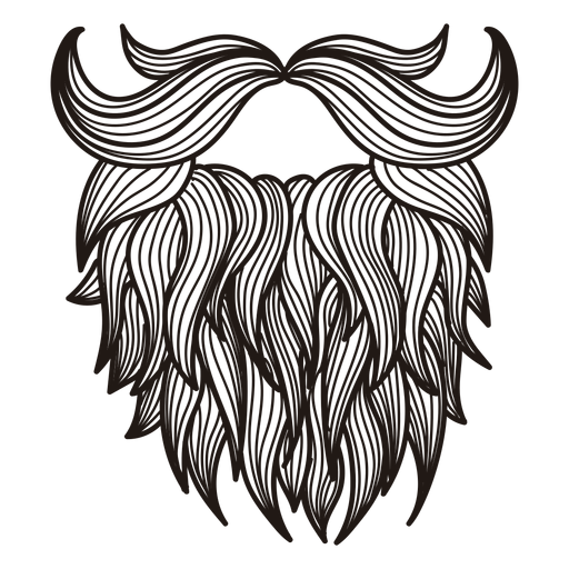 Download Free Png Illustrated Hipster Moustache Dlpng