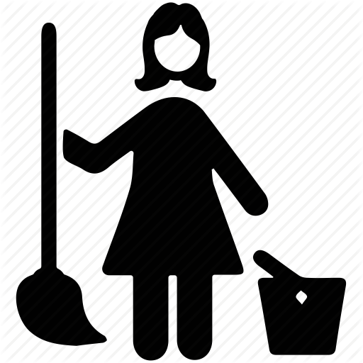 Janitor Png Black And White Transparent Janitor Black And White
