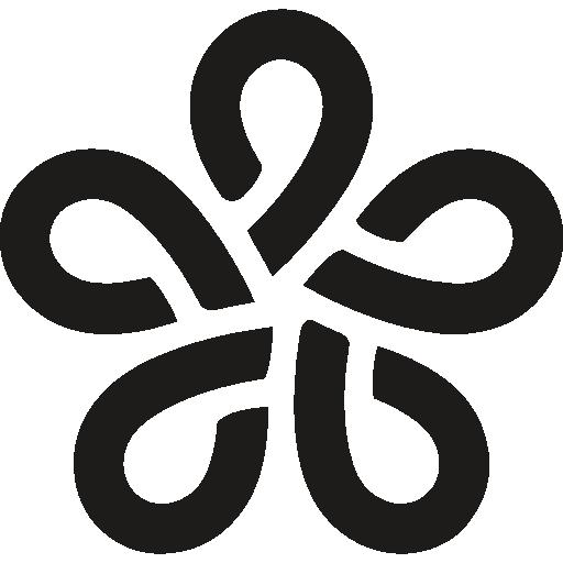 Fukuoka Japan Symbol Icons Free Download