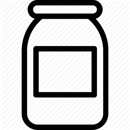 Bottle, Food, Jam Jar, Jar Icon