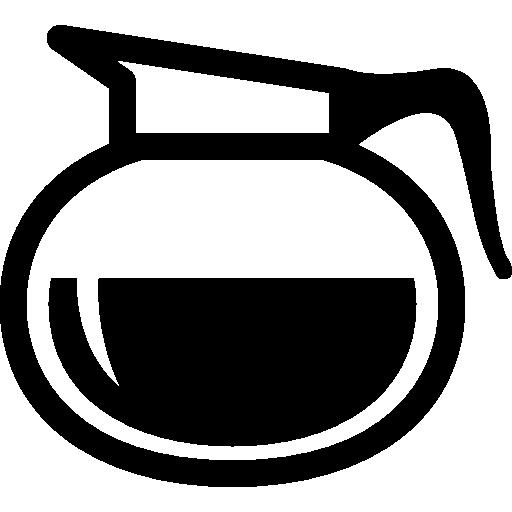 Coffee Jar Of Rounded Shape Icon Drinks Set Freepik