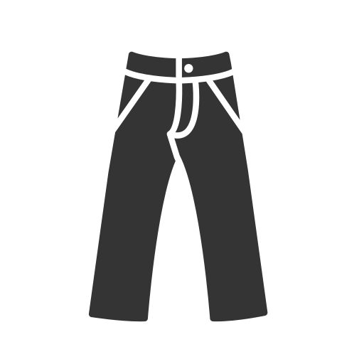 Jeans Icon Free Of Clothing Icons Black