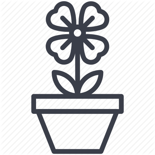 Flowering Plant, Nature Beauty, Pot Plant, Shamrock Icon