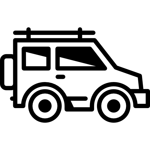 Jeep Facing Right Icons Free Download