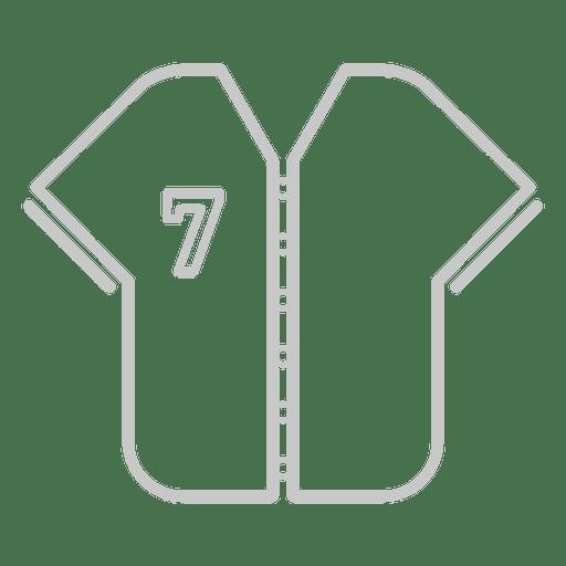Baseball Jersey Icon