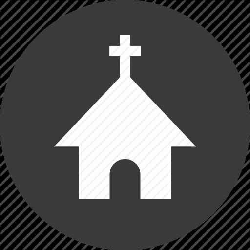 Church, Cross, Jesus, Mass, Time Icon