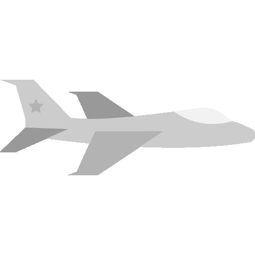 Fighter, Jet Icon