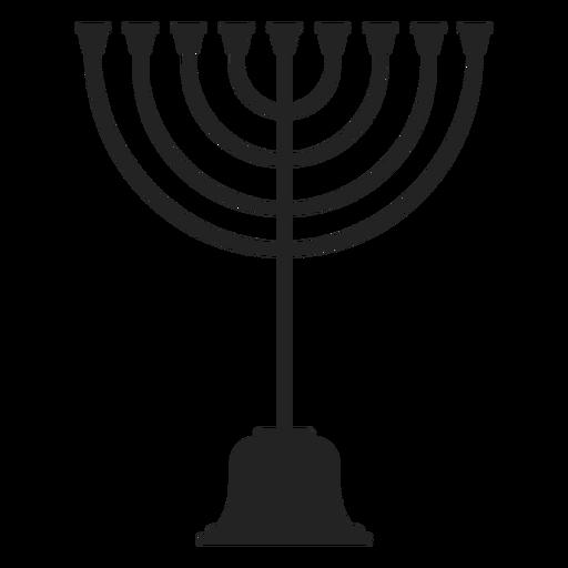 Jewish Menorah Icon