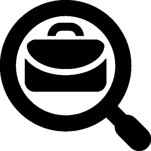 Business Job Search Symbol Icon Minimal Universal Theme Freepik