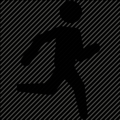 Athletics, Jog, Jogging, Race, Run, Running, Sprinting Icon