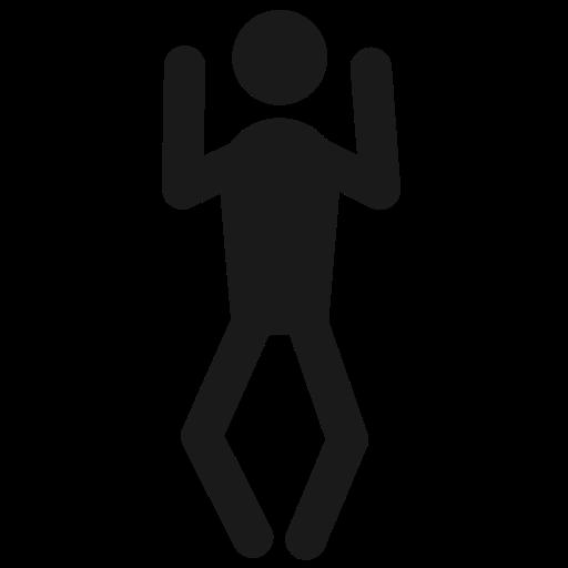 Behaviour, Dance, Fun, Happy, Human, Joy, Man Icon
