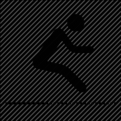 Jump, Jumping, Long Jump, Sport, Sports Icon