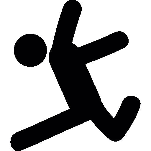 Man Jumping Icons Free Download