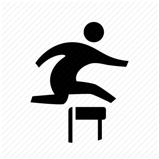 Athletics, Jump, Obstacle, Race, Running, Sport, Steeplechase Icon