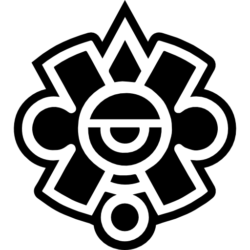 Mayan Symbol Of Mexico Icons Free Download