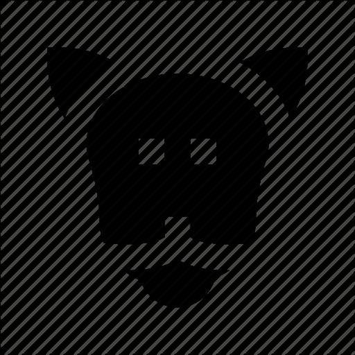 Dog, Dog Face, K Dog, Police Breed, Police Dog Icon