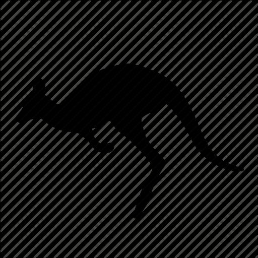 Animal, Australia, Kangaroo, Kangaroos, Safari, Silhouette, Zoo Icon