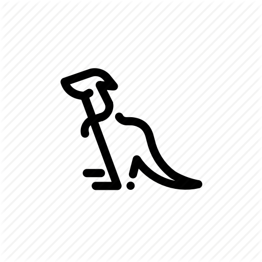 Animal, Kangaroo Icon