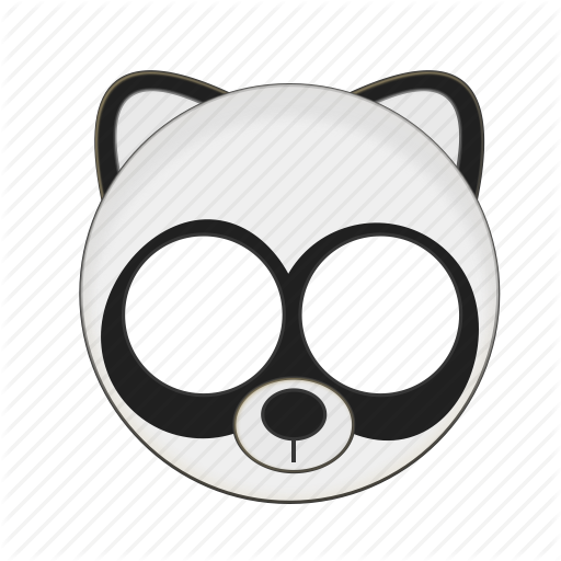 Animal, Bear, Kawaii, Mask, Panda, Pet Icon