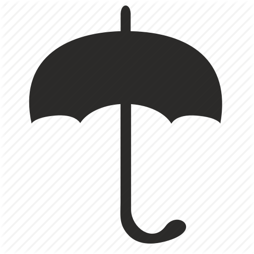 Calm, Keep, Rain, Umbrella Icon