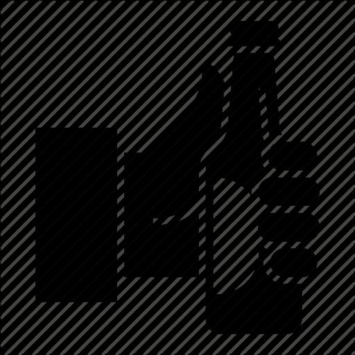 Beer, Beer Bottle, Hand, Hand Bottle, Keep Icon