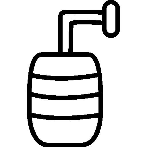 Beer Keg Outline
