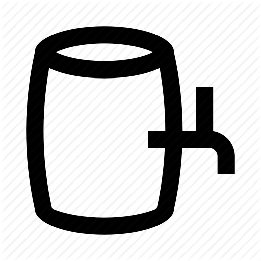 Alcohol, Barrel, Beer, Drink, Keg Icon