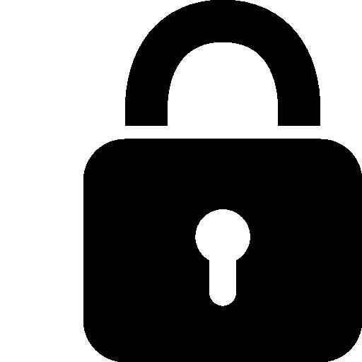 Very Basic Lock Icon Windows Iconset