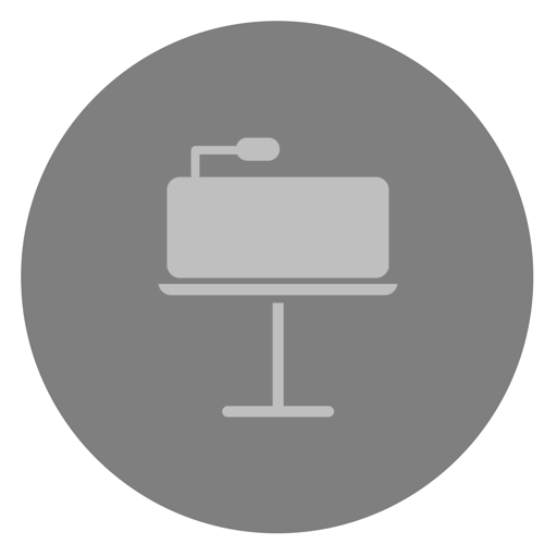 Keynote Icon Dynamic Yosemite Iconset