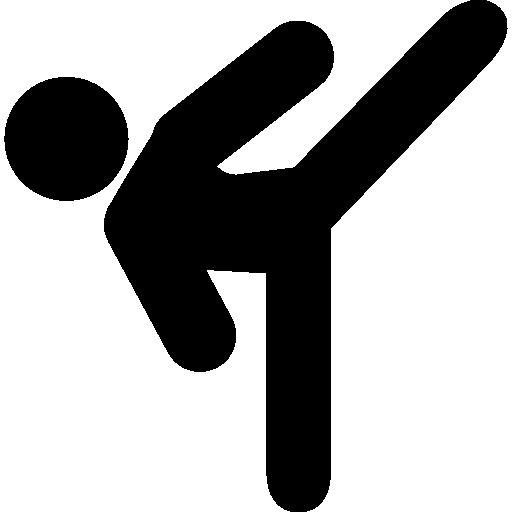 Kickboxing Icon