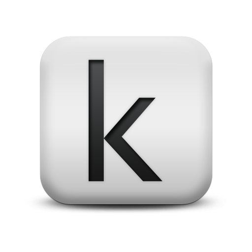Letter K Icons