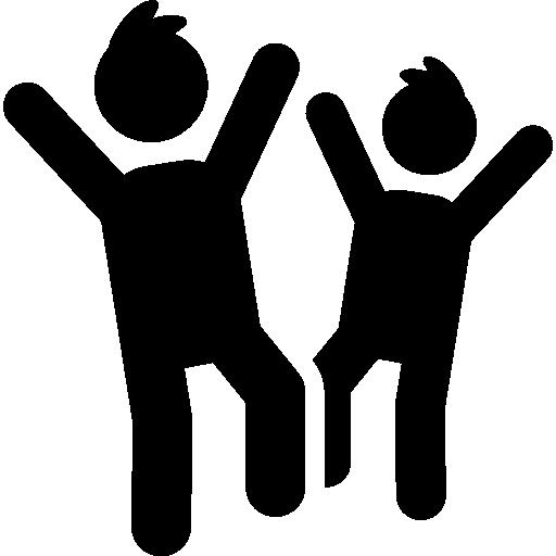 Happy Children Icons Free Download