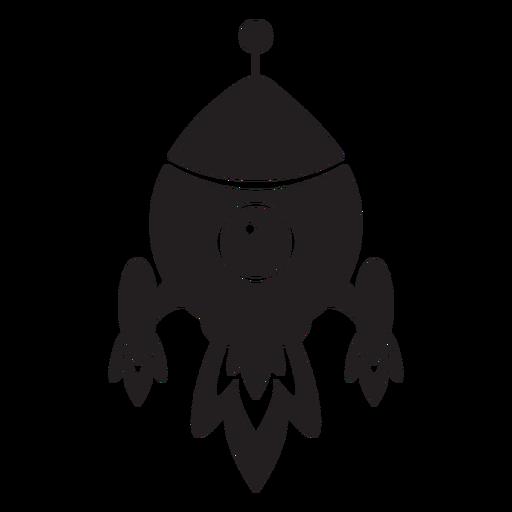 Spaceship Kids Flat Icon