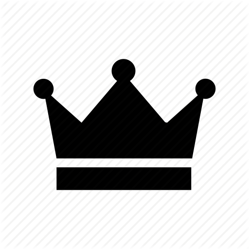 Casino, Crown, King, King Crown, Queen Icon