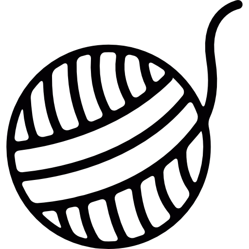 Knitting Vector Thread Ball Transparent Png Clipart Free