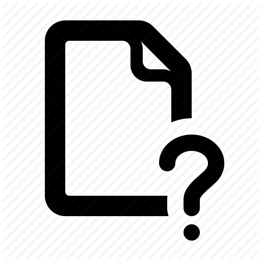 Document, Faq, File, Knowledgebase, Question, Watchkit Icon