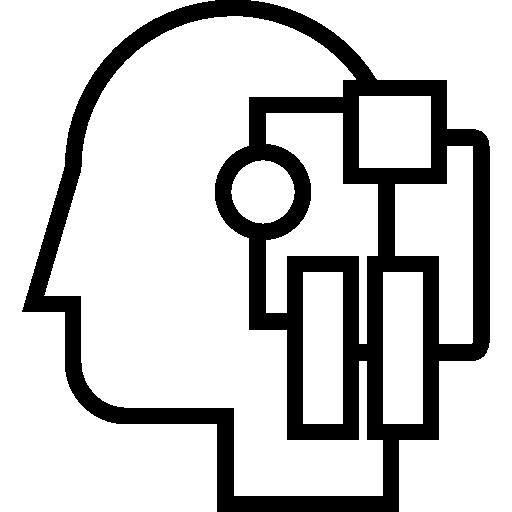 Intelligence, Mind, Human, Think, People, Idea, Management Icon