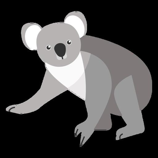 Koala Ear Leg Nose Flat