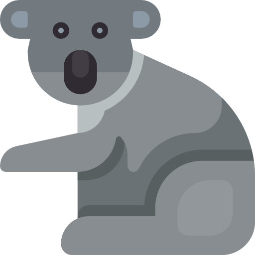 Zoo, Animal Kingdom, Wild Life, Animal, Koala, Animals Icon