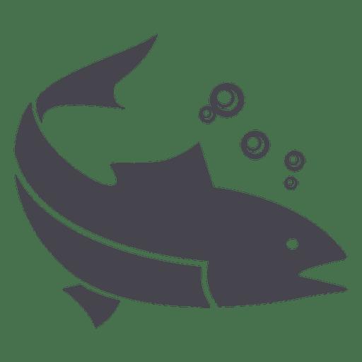 Purple Fish Cartoon