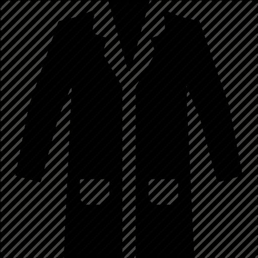 Clothes, Coat, Lab Coat, Laboratory Icon