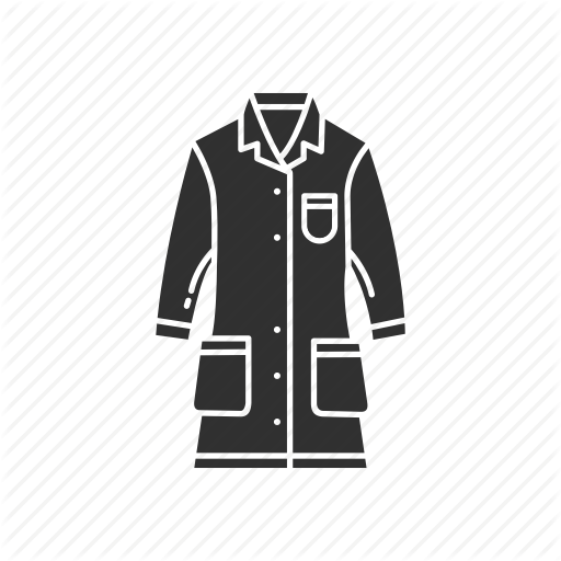 Clothes, Lab Coat, Laboratory, Uniform Icon