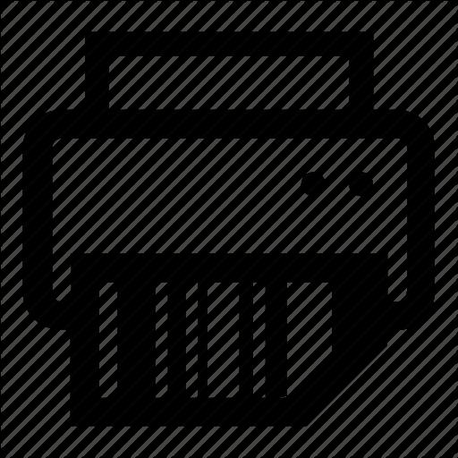 Barcode, Print, Printer, Scan Icon