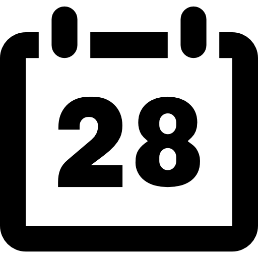 Day Of A Calendar Icons Free Download
