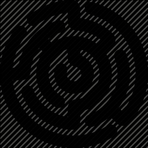 Circle, Circle Maze, Labyrinth, Maze, Maze Labyrinth Icon