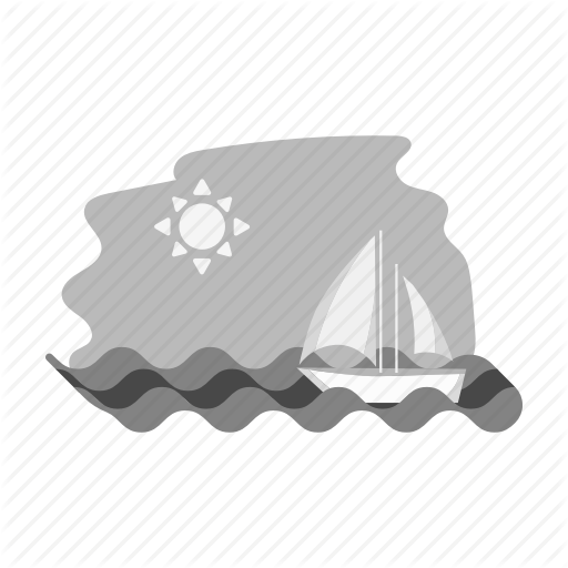 Landscape, Painting, Rest, Sea, Sun, Yacht Icon