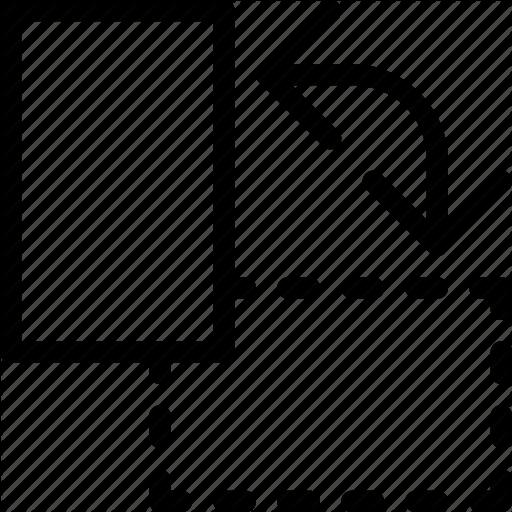 Arrow, Design, Horizontal, Landscape, Portrait, Rotate Icon