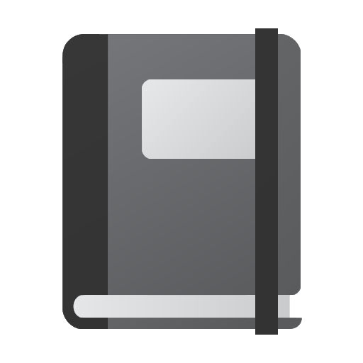 Mixed Notebook Flat Icon